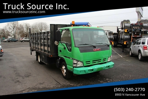 2007 GMC W4500 COE S/A Flatbed Truck for sale at Truck Source Inc. in Portland OR