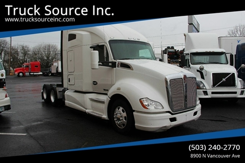 2014 Kenworth T680 for sale at Truck Source Inc. in Portland OR