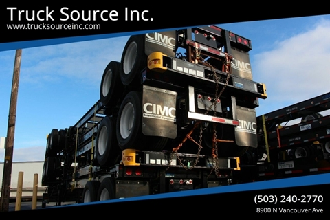 2020 CIMC CIMC 40 GN for sale at Truck Source Inc. in Portland OR