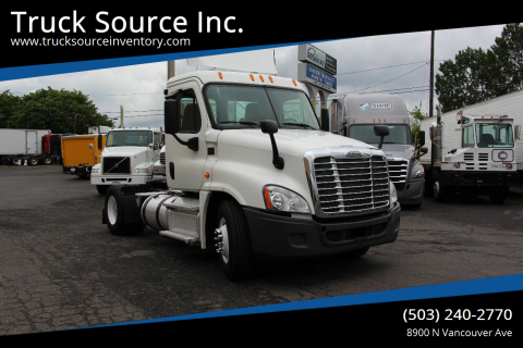 2013 Freightliner Cascadia Day Cab 125 for sale at Truck Source Inc. in Portland OR