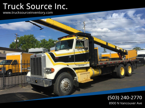 1990 Peterbilt 357 for sale at Truck Source Inc. in Portland OR