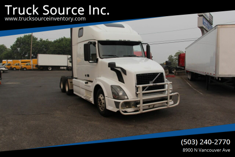 2007 Volvo VNL64T670 for sale at Truck Source Inc. in Portland OR