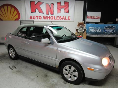 2002 Volkswagen Cabrio for sale in Akron, OH