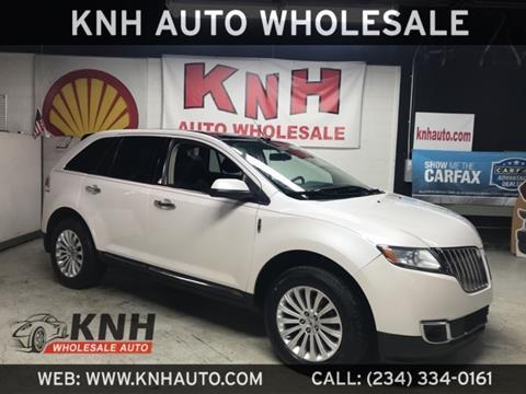 2014 Lincoln Mkx For Sale In Ohio Carsforsalecom