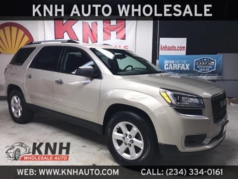 2014 GMC Acadia for sale in Akron, OH