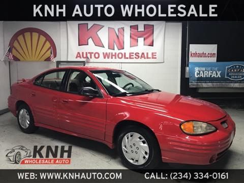 2002 Pontiac Grand Am for sale in Akron, OH