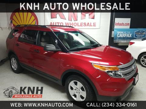 2012 Ford Explorer for sale in Akron, OH