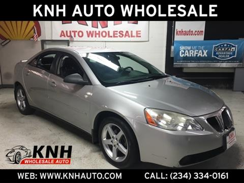 2007 Pontiac G6 for sale in Akron, OH