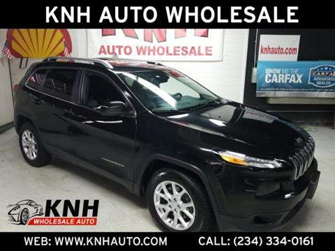2014 Jeep Cherokee for sale in Akron, OH
