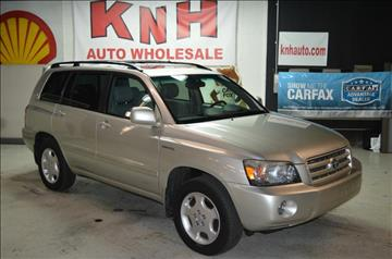 2005 Toyota Highlander for sale in Akron, OH