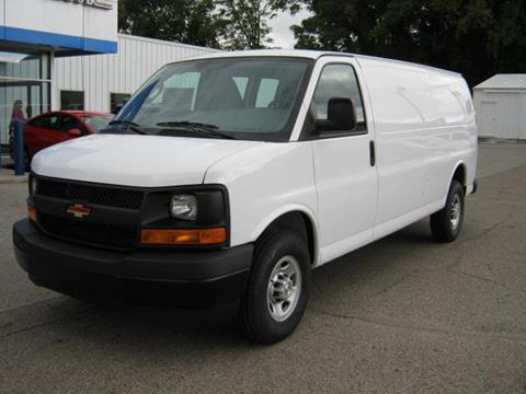 2017 Chevrolet Express Cargo for sale in Wabash IN
