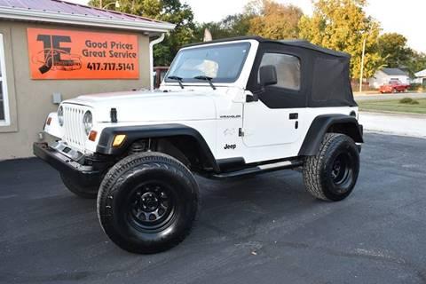 1997 Jeep Wrangler for sale in Webb City, MO