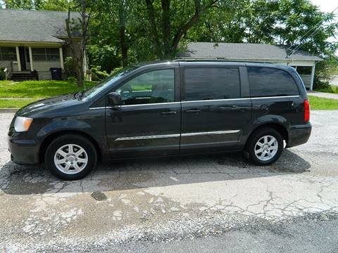2012 Chrysler Town and Country for sale at JE AUTO SALES LLC in Webb City MO