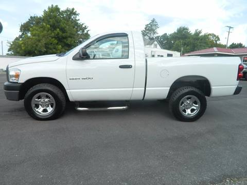 2007 Dodge Ram Pickup 1500 for sale at JE AUTO SALES LLC in Webb City MO