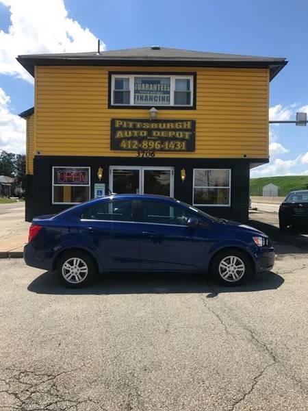 2013 Chevrolet Sonic LT Auto 4dr Sedan - West Mifflin PA
