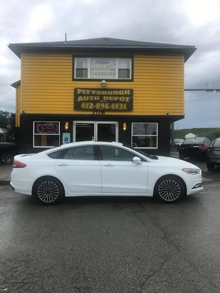 2017 Ford Fusion Titanium 4dr Sedan - West Mifflin PA