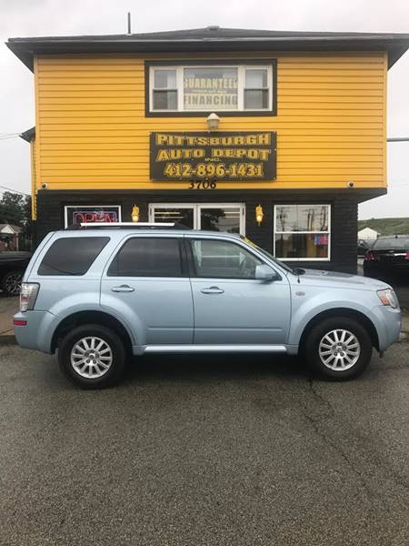2009 Mercury Mariner Premier I4 4dr SUV - West Mifflin PA