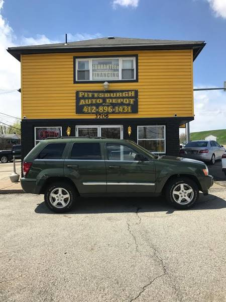 2006 Jeep Grand Cherokee Limited 4dr SUV 4WD w/ Front Side Airbags - West Mifflin PA