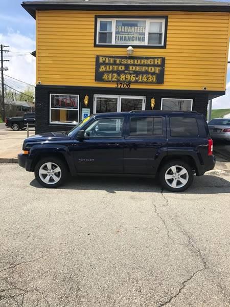 2012 Jeep Patriot 4x4 Latitude 4dr SUV - West Mifflin PA