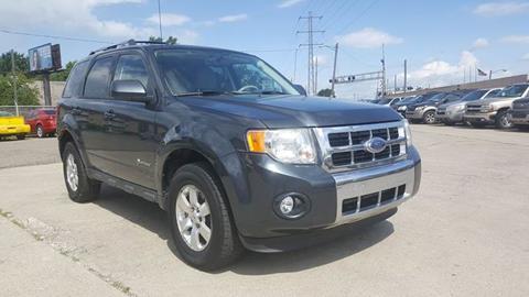 Ford Escape Hybrid For Sale >> Ford Escape Hybrid For Sale In Dearborn Mi Prunto Motor Inc