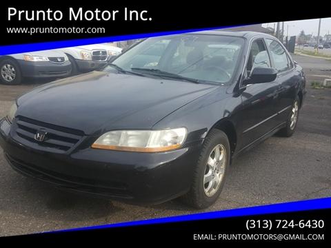 2001 Honda Accord for sale in Dearborn, MI