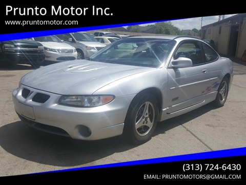 2000 Pontiac Grand Prix for sale in Dearborn, MI
