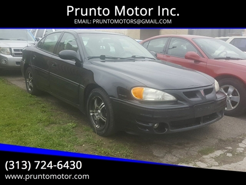 2004 Pontiac Grand Am for sale in Dearborn, MI