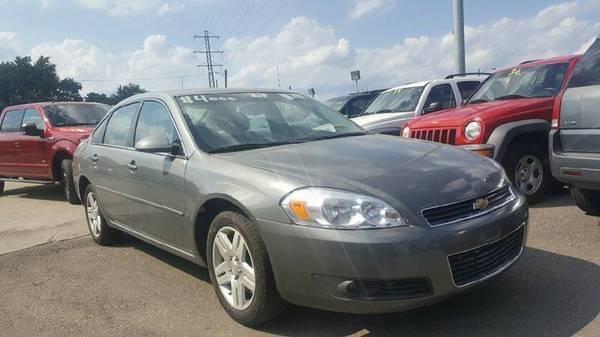 2007 Chevrolet Impala for sale at Prunto Motor Inc. in Dearborn MI