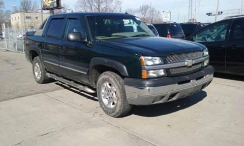 2003 Chevrolet Avalanche for sale at Prunto Motor Inc. in Dearborn MI