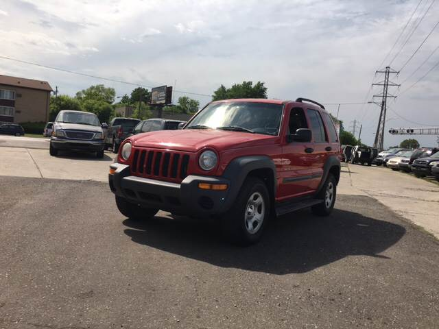 2002 Jeep Liberty For Sale At Prunto Motor Inc. In Dearborn MI
