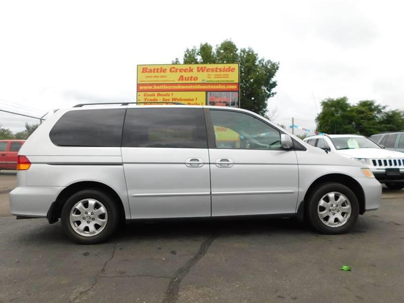 2002 Honda Odyssey EX 4dr Mini Van   Battle Creek MI