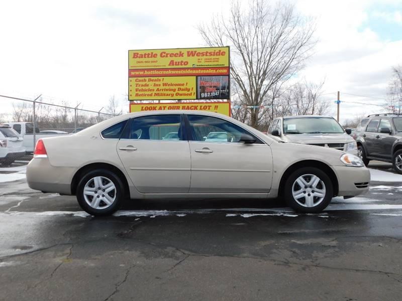2008 chevrolet impala ls 4dr sedan in battle creek mi motor state auto sales. Black Bedroom Furniture Sets. Home Design Ideas