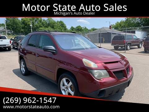 2003 Pontiac Aztek for sale in Battle Creek, MI