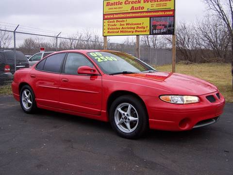 2000 Pontiac Grand Prix for sale in Battle Creek, MI