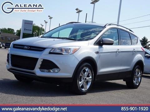 2015 Ford Escape for sale in Warren, MI
