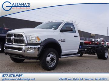 2017 RAM 5500 Chassis Cab for sale in Warren, MI