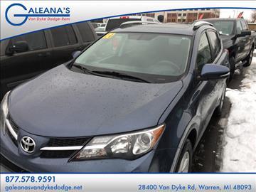 2014 Toyota RAV4 for sale in Warren, MI