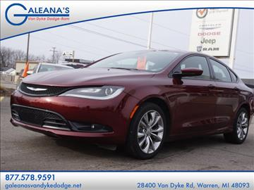 2015 Chrysler 200 for sale in Warren, MI