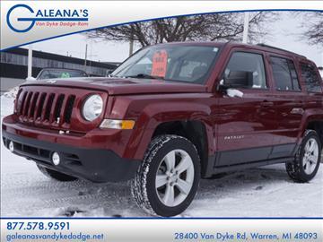 2014 Jeep Patriot for sale in Warren, MI