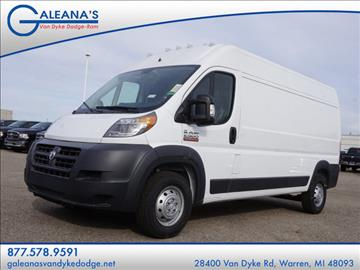 2017 RAM ProMaster Cargo for sale in Warren, MI