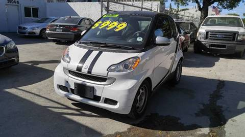 2012 Smart fortwo for sale in Hollywood, FL