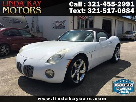 2007 Pontiac Solstice for sale in Merritt Island, FL