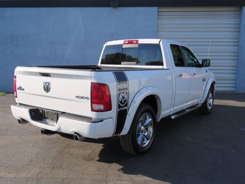 2016 RAM Ram Pickup 1500 4x4 Big Horn 4dr Quad Cab 6.3 ft. SB Pickup - Hollywood FL