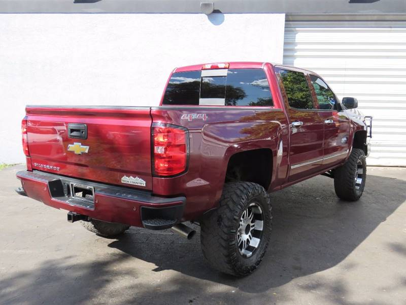 2014 Chevrolet Silverado 1500 4x4 High Country 4dr Crew Cab 5.8 ft. SB - Hollywood FL