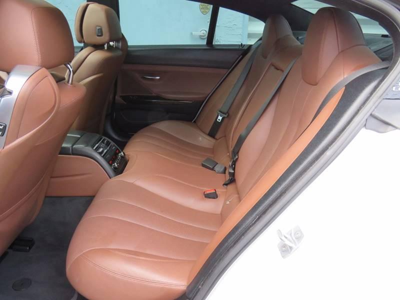 2015 BMW 6 Series 640i Gran Coupe 4dr Sedan - Hollywood FL
