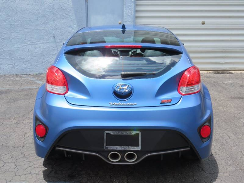 2016 Hyundai Veloster Turbo Rally Edition 3dr Coupe - Hollywood FL