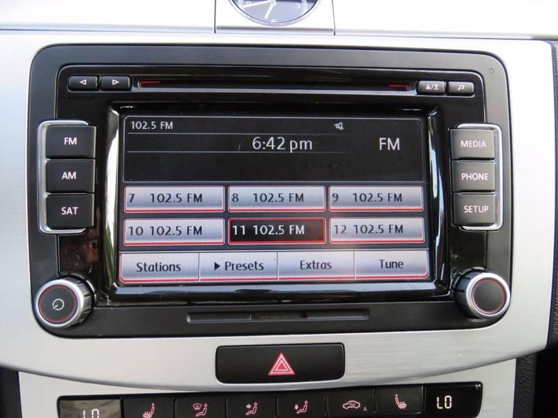 2013 Volkswagen CC Sport PZEV 4dr Sedan 6M w/ Lighting Package - Hollywood FL