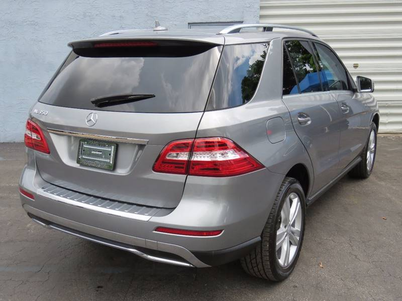 2015 Mercedes-Benz M-Class ML 350 4dr SUV - Hollywood FL