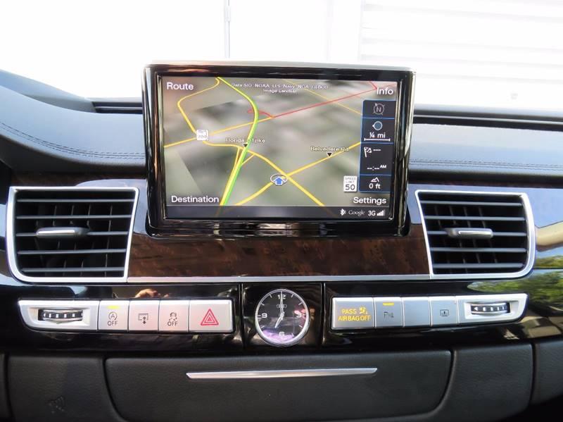 2015 Audi A8 L AWD 3.0T quattro 4dr Sedan - Hollywood FL