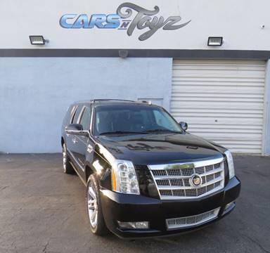 2013 Cadillac Escalade ESV for sale in Hollywood, FL
